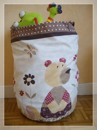 sacs de rangements en tissu lescouturesdemagda. Black Bedroom Furniture Sets. Home Design Ideas