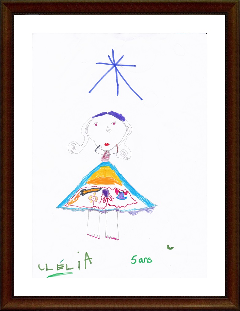Clélia 5 ans