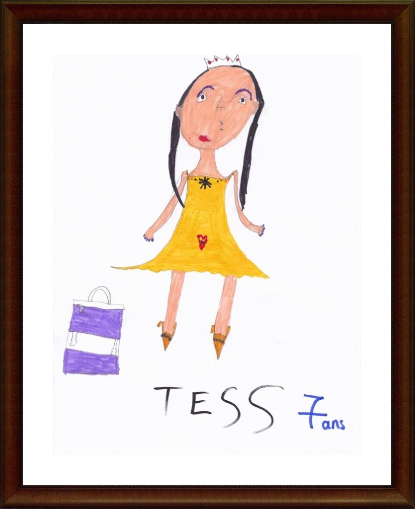 Tess 7 ans