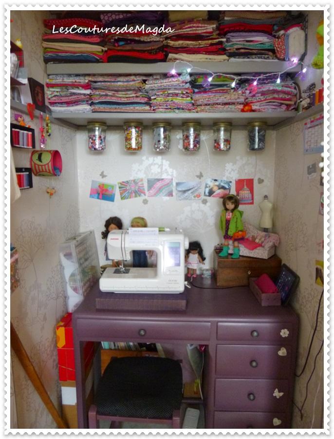 Atelier de couture lescouturesdemagda for Le bon coin boite a couture
