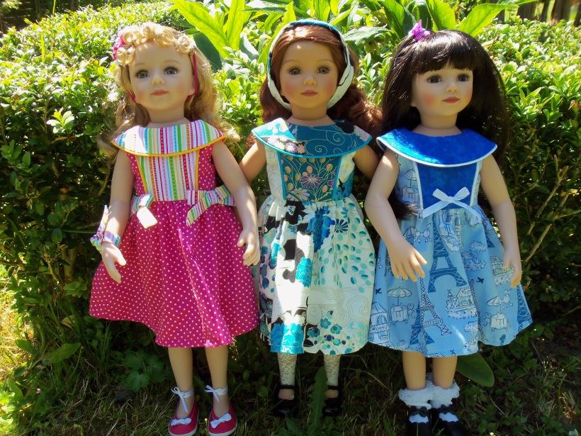 Morgane, Tanya et Noëlla
