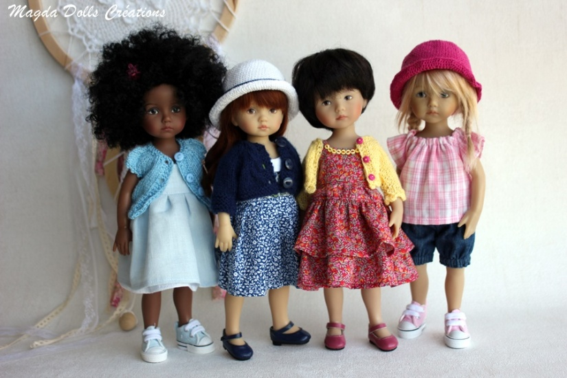 10 boneka